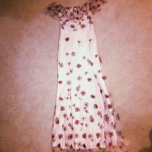 Dresses & Skirts - • e m b r o i d e r e d  f o r m a l  g o w n •